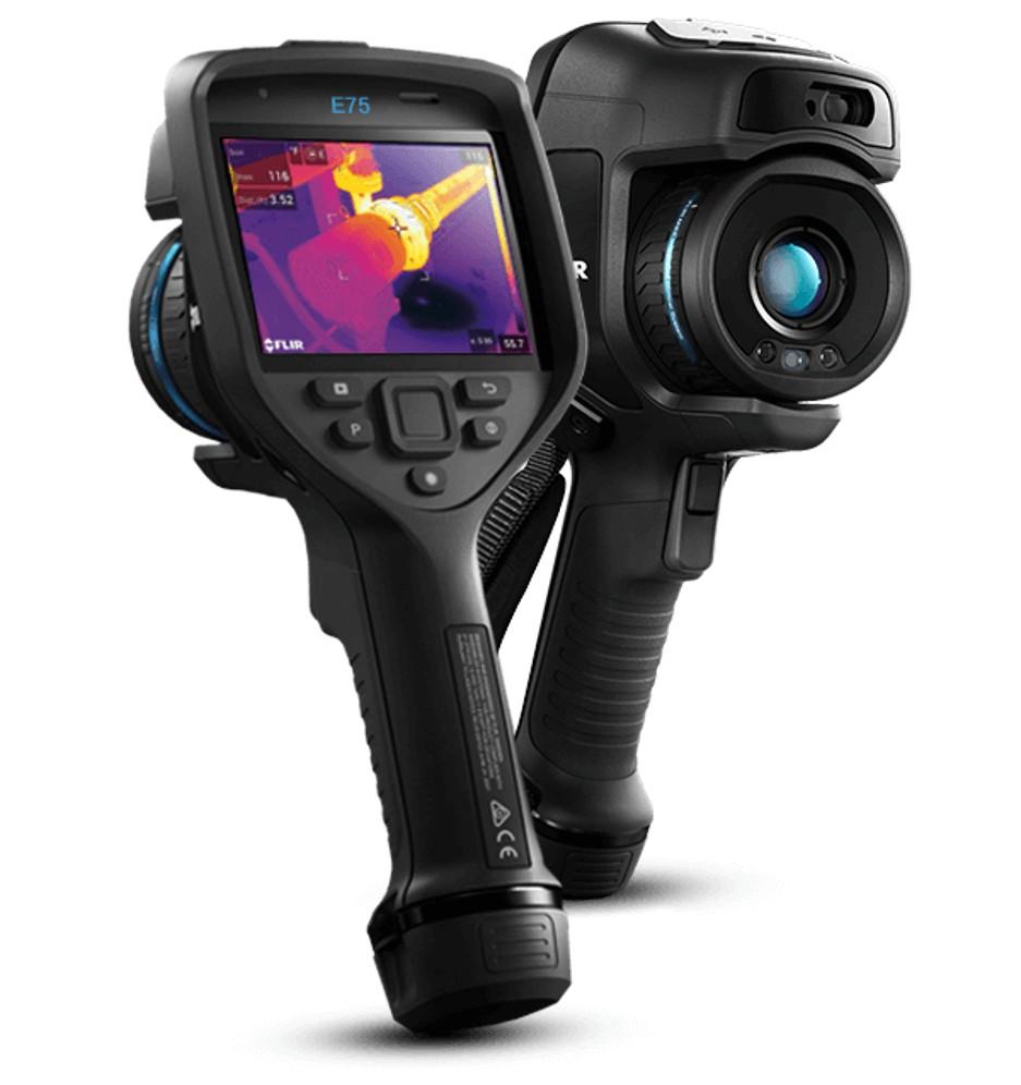 Câmera termográfica industrial