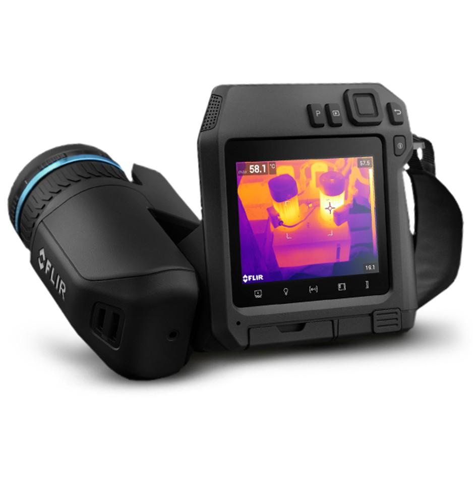 Camera termográfica infravermelho