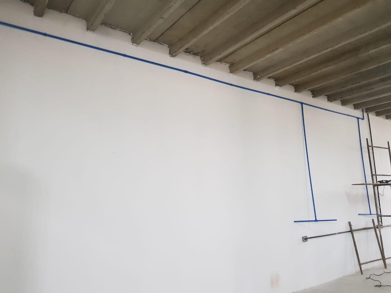 Tubos e conexões para rede de ar comprimido